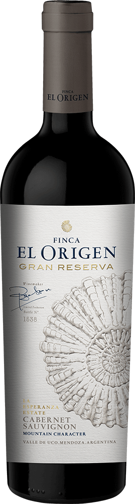 Finca El Origen Gran Reserva Cabernet Sauvignon Bottleshot