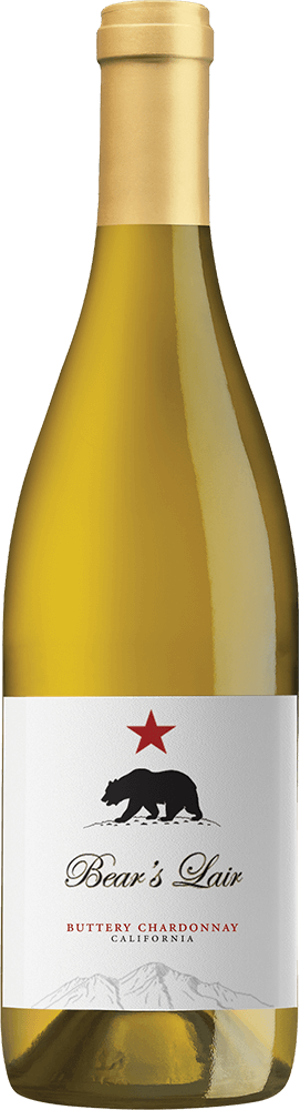 Bears' Lair Buttery Chardonnay Bottleshot