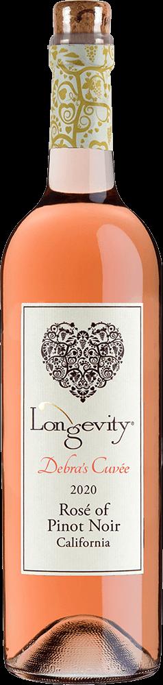 Longevity Rosé of Pinot Noir Bottleshot