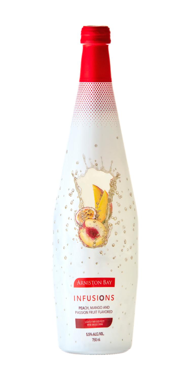 Arniston Bay Peach Mango and Passion Fruit Bottleshot