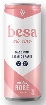 Besa Mi Vino Rose Bottleshot