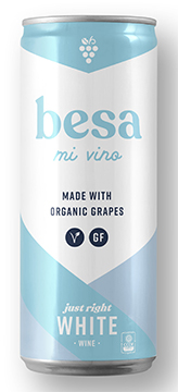 Besa Mi Vino White Bottleshot