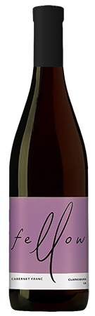 Fellow Wines Cabernet Franc Bottleshot
