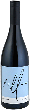 Fellow Wines Petite Sirah Bottleshot