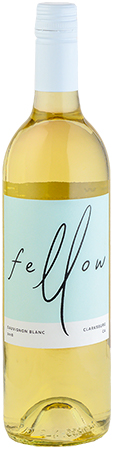 Fellow Wines Sauvignon Blanc Bottleshot