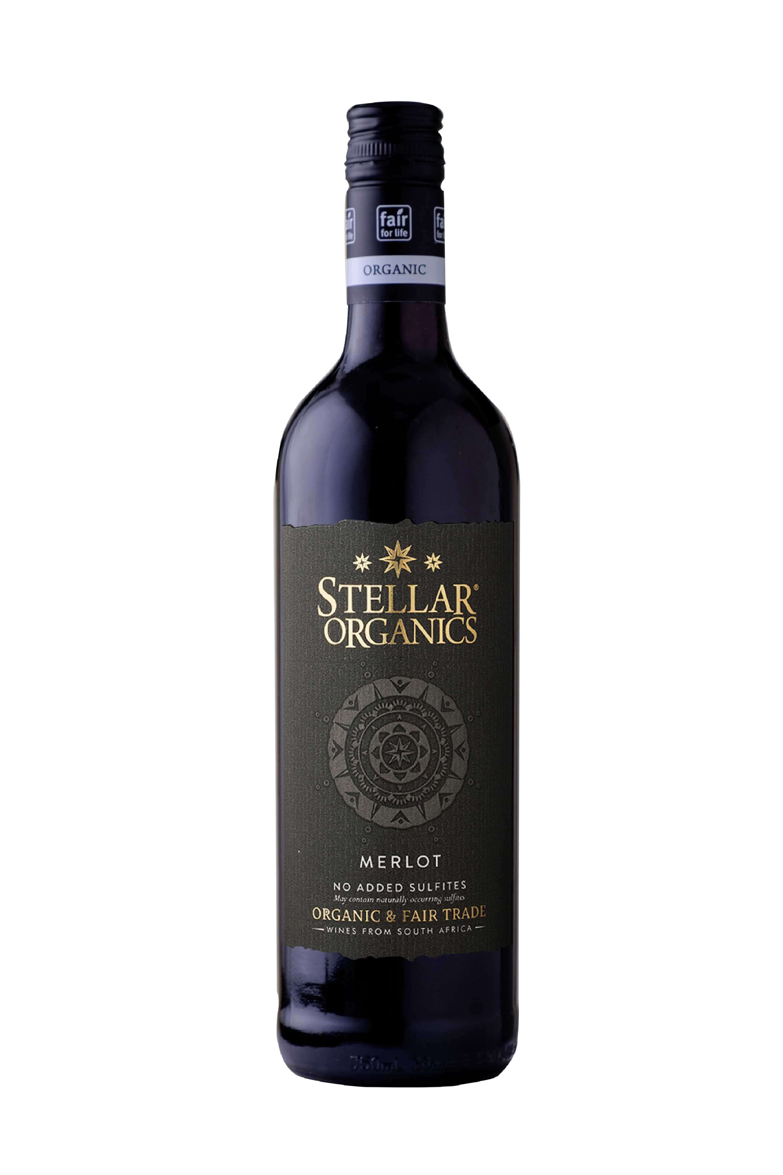 Stellar Organics Merlot Bottleshot