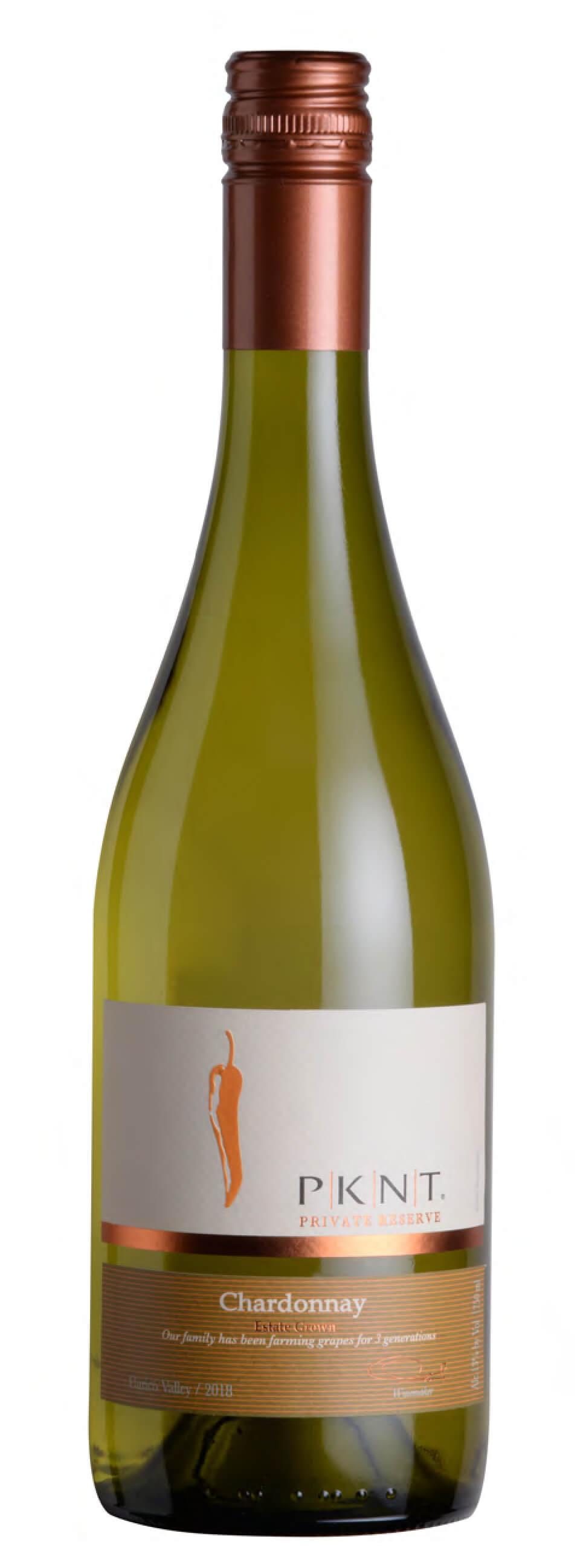 PKNT Chardonnay Reserve Bottleshot