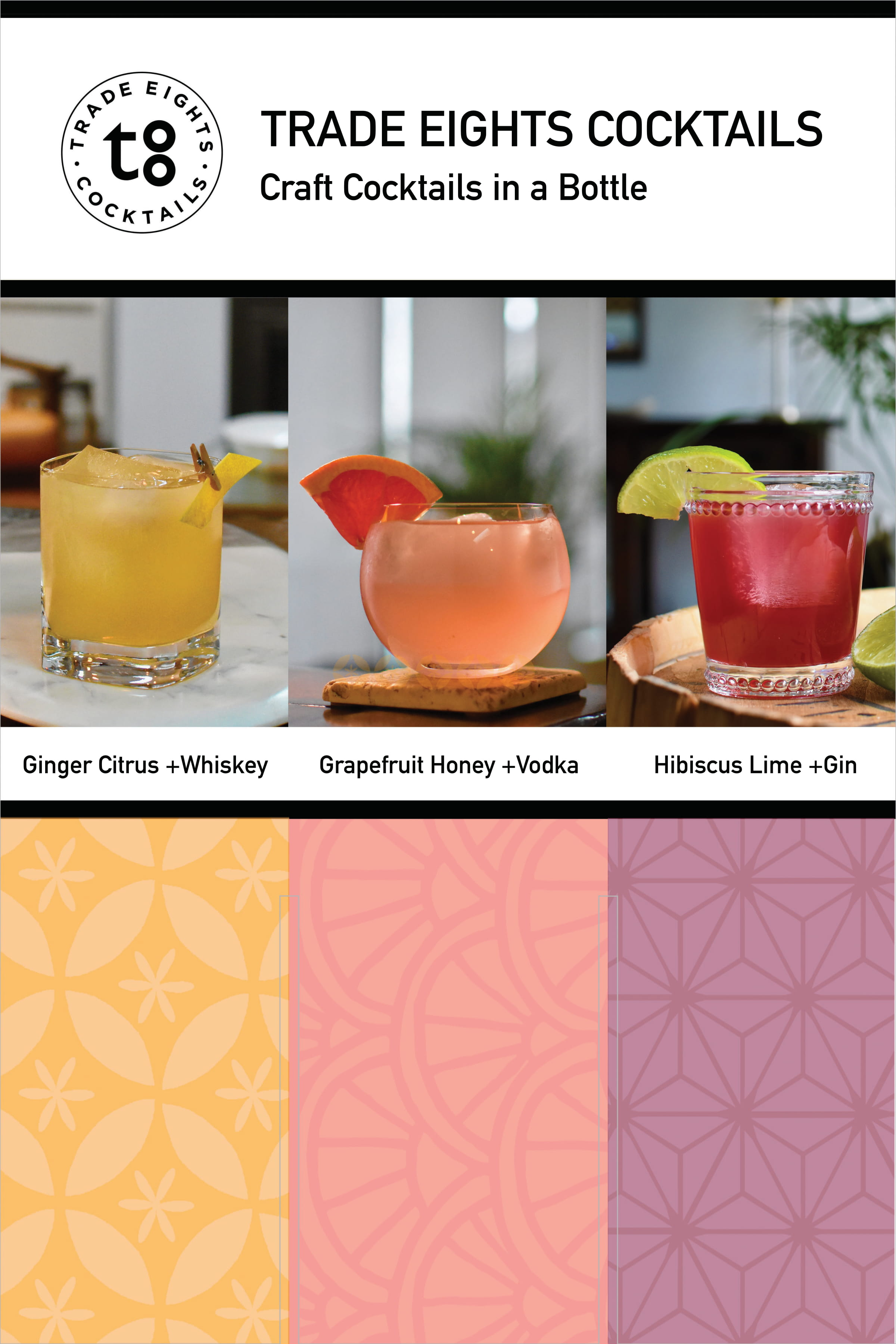 Trade Eights Cocktails Case Card