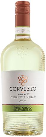 Corvezzo Pinot Grigio Bottleshot