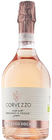 Corvezzo Prosecco Rose Bottleshot