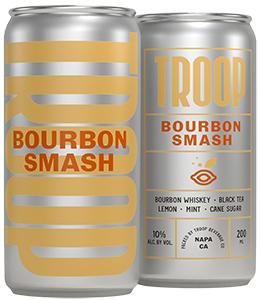Troop Cocktails Bourbon Smash Bottleshot
