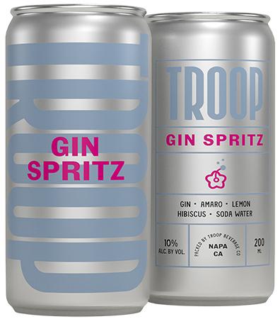 Troop Cocktails Gin Spritz Bottleshot