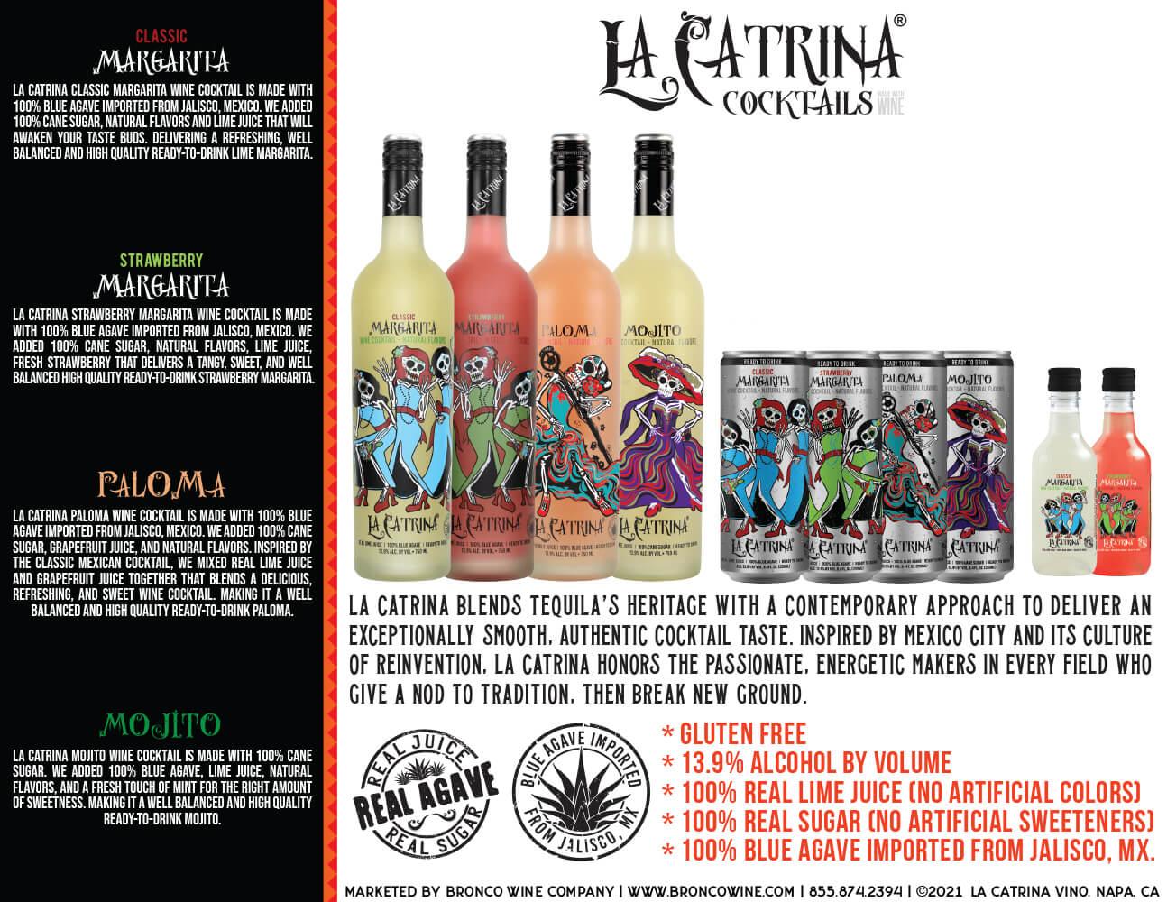 La Catrina Cocktails Family Sell Sheet