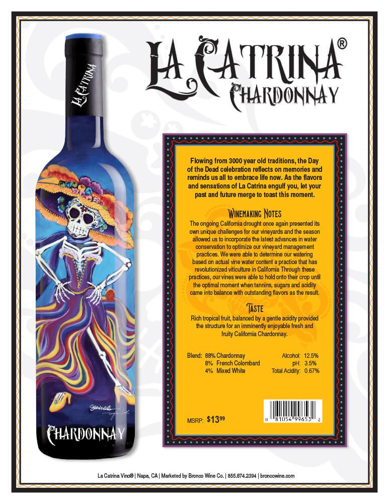 La Catrina Vino Chardonnay Tech Sheet