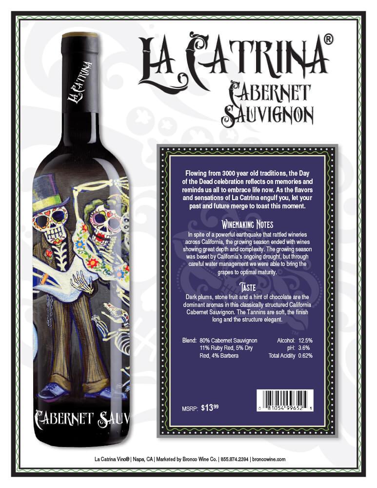 La Catrina Vino Cabernet Sauvignon Tech Sheet