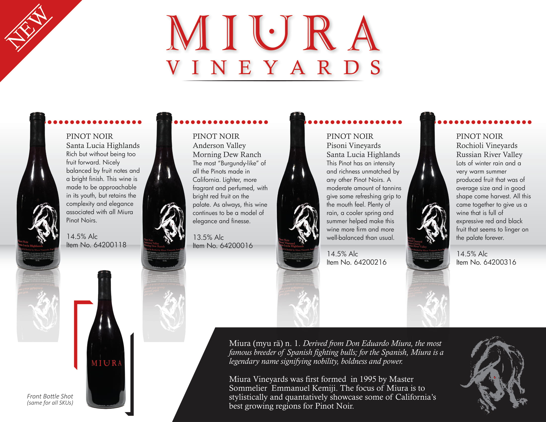 Miura Vineyards Family Tech Sheet