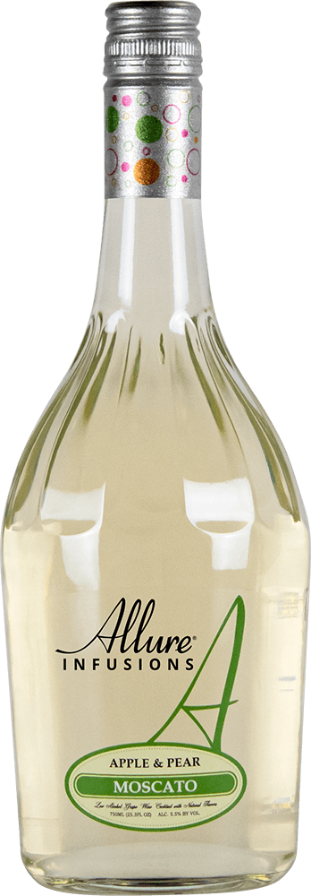 Allure Infusions Apple Pear Moscato Bottleshot