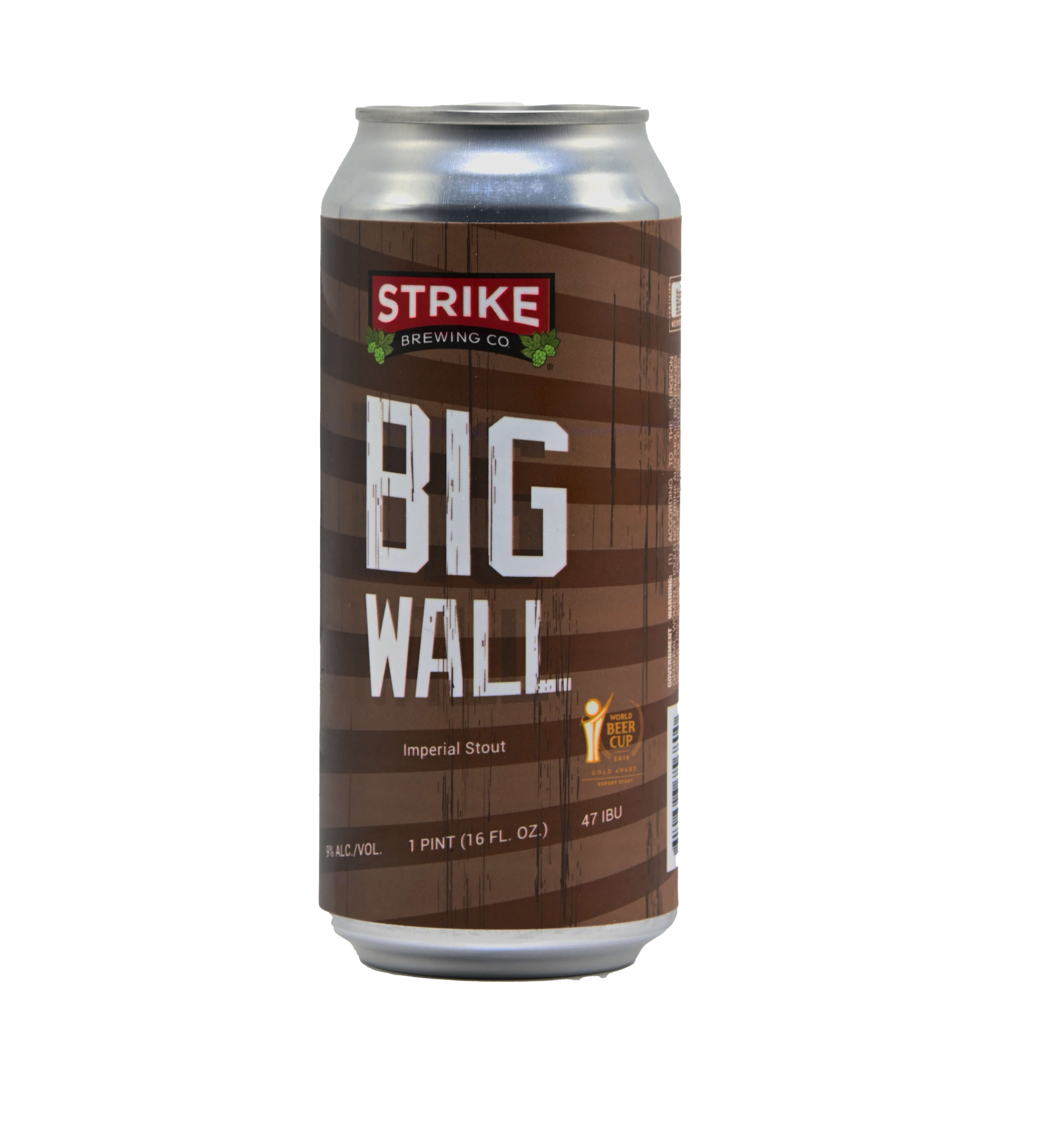 Strike Big Wall Imperial Stout Bottleshot