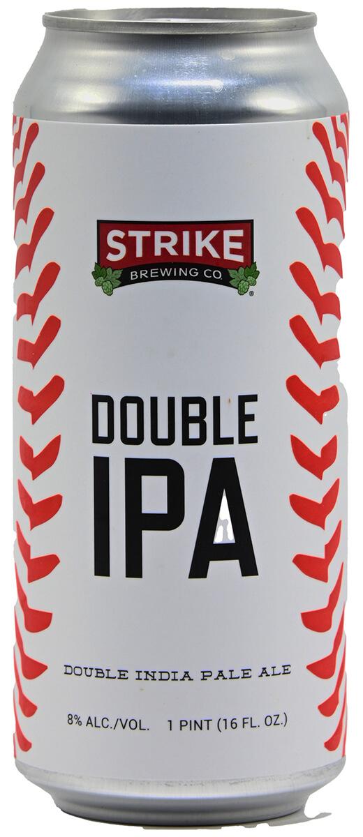 Strike Double IPA Bottleshot