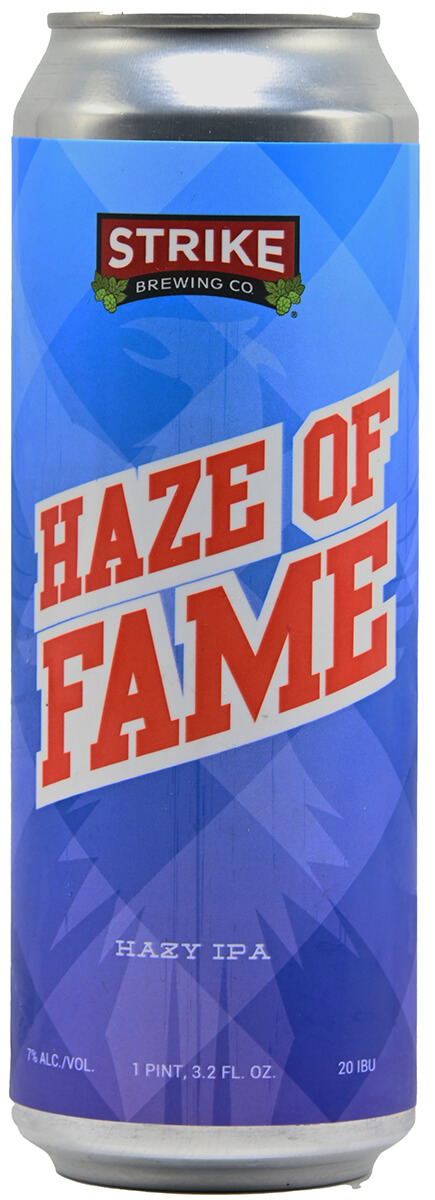 Strike Haze of Fame Hazy IPA Bottlshot