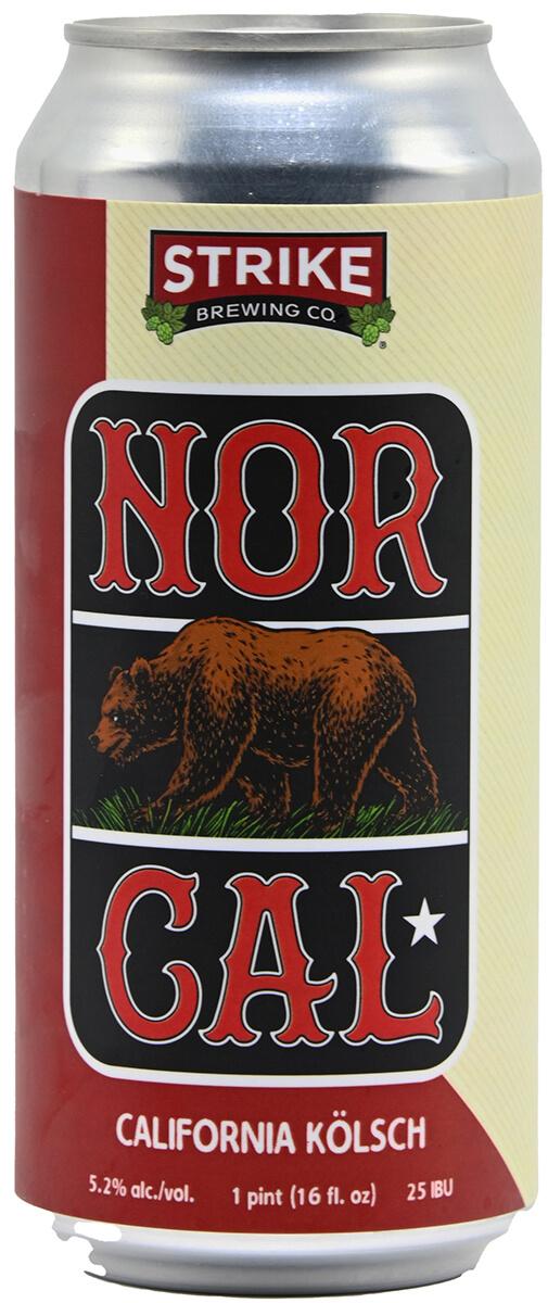 Strike Nor Cal Kolsch Bottleshot