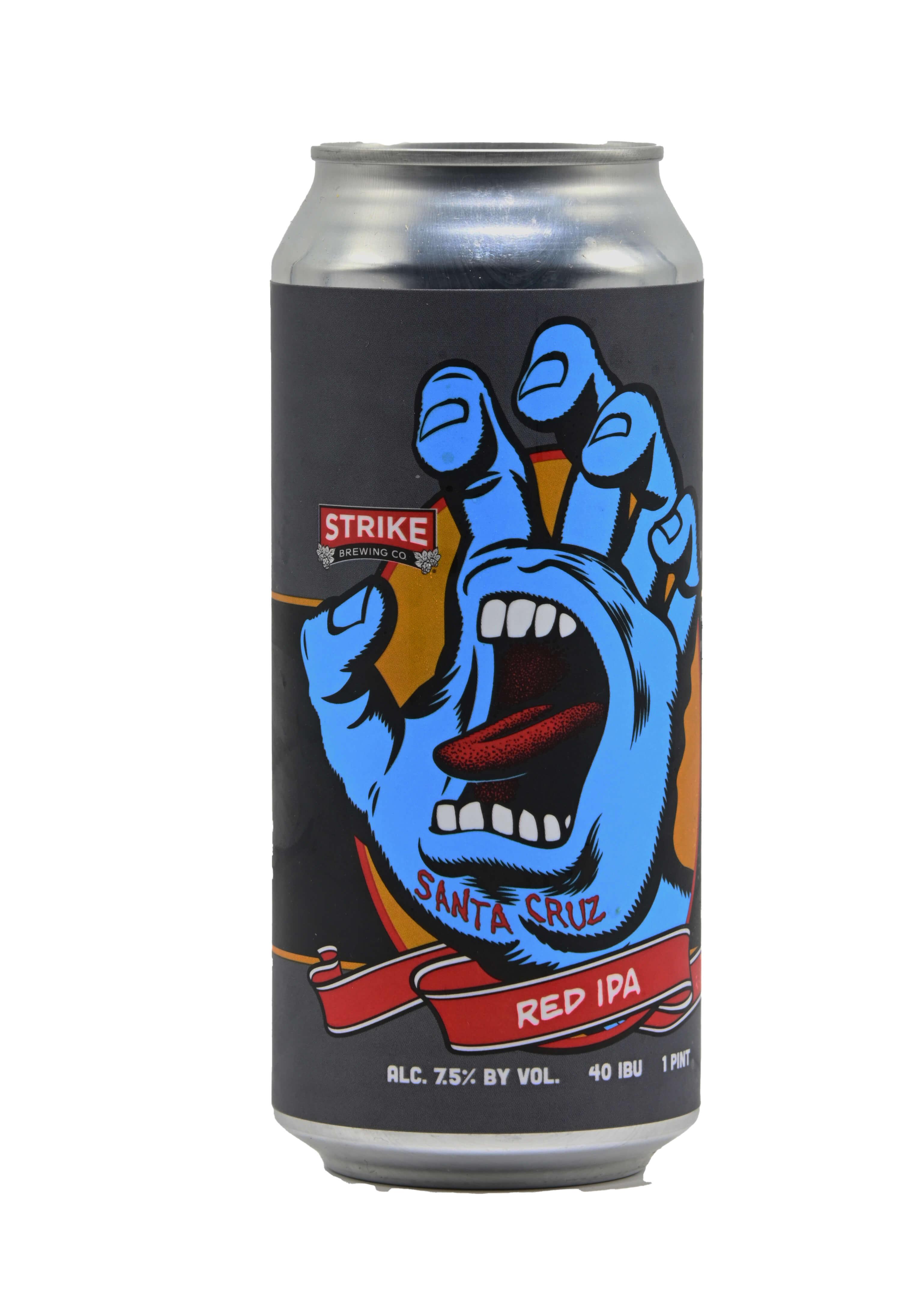 Strike Screaming Hand Red IPA Bottleshot