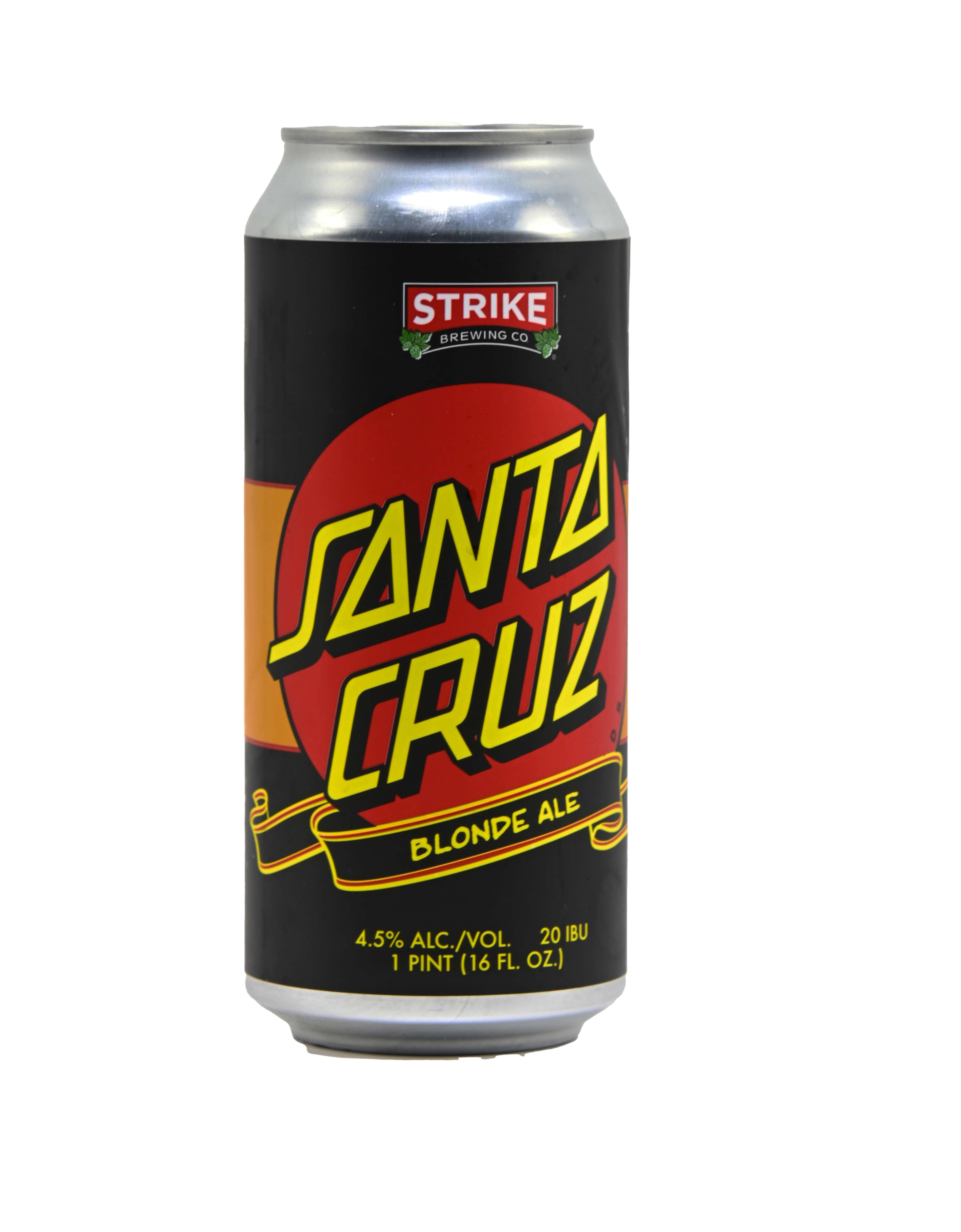 Strike Santa Cruz Classic Dot Blonde Ale Bottleshot