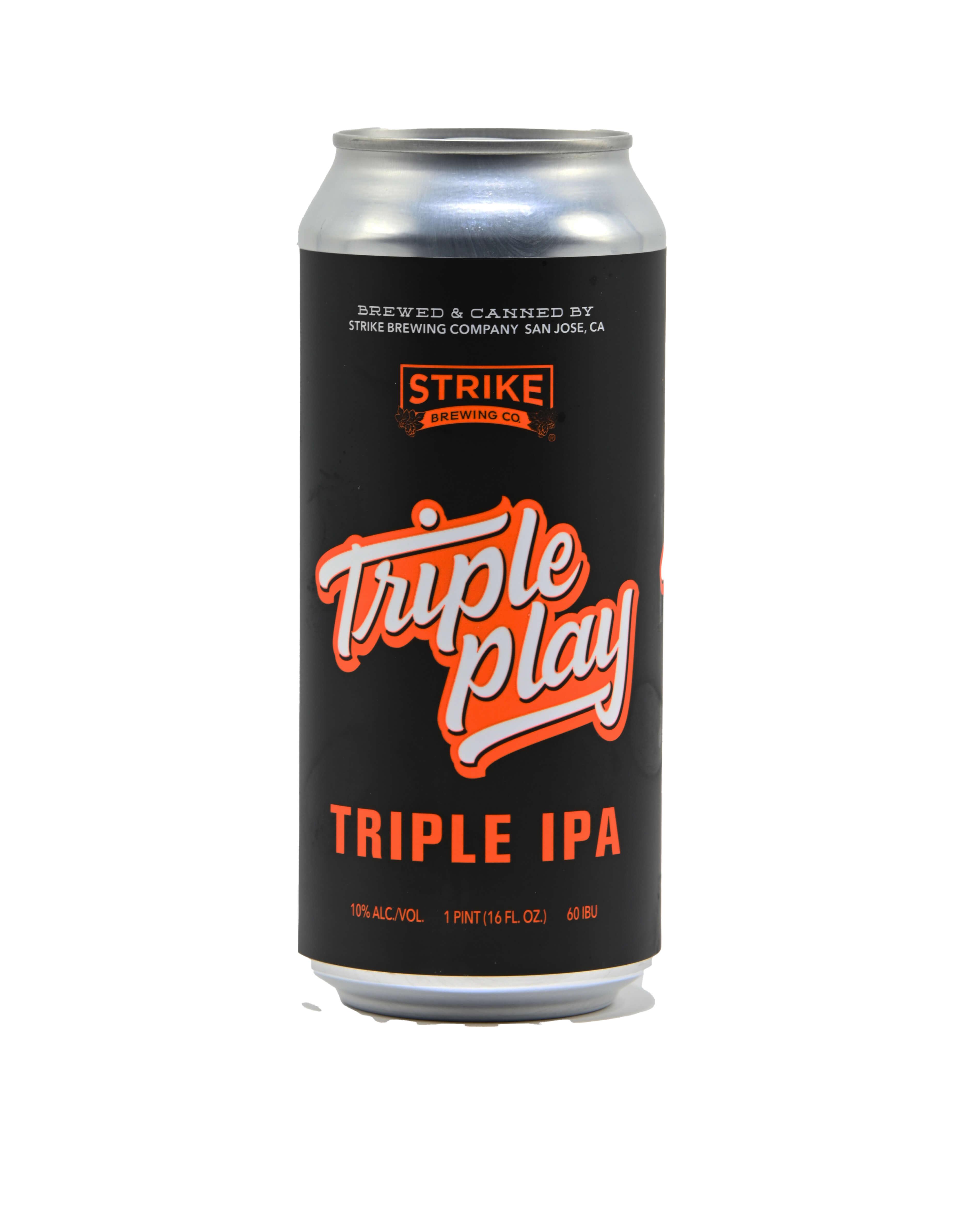 Strike Triple Play Triple IPA Bottleshot
