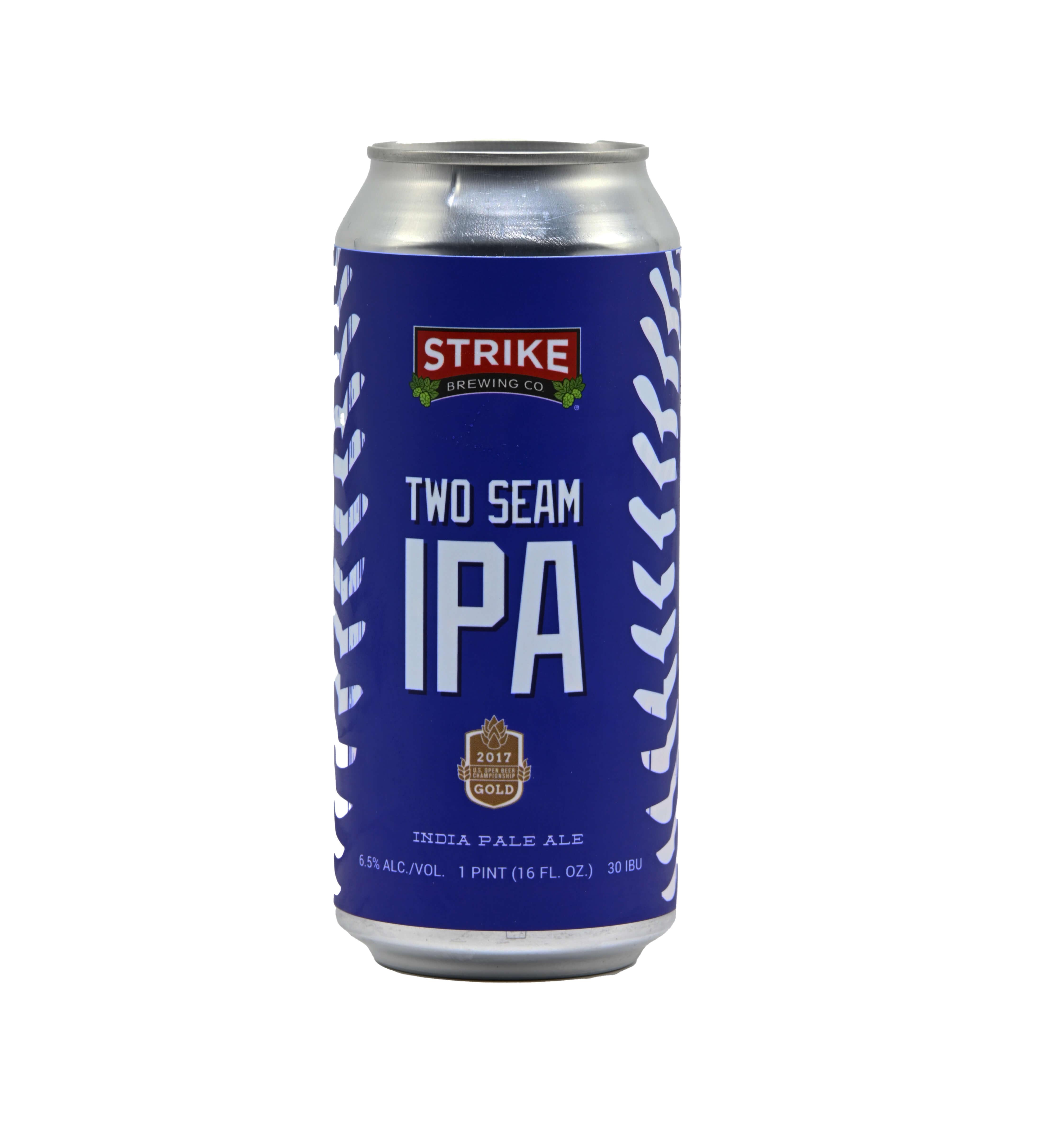 Strike Two Seam IPA Bottleshot