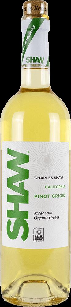 Shaw Organic Pinot Grigio Bottleshot