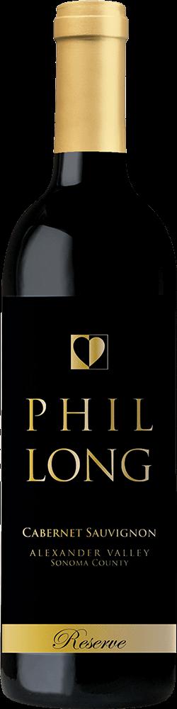Phil Long Reserve Alexander Valley Cabernet Sauvignon Bottleshot