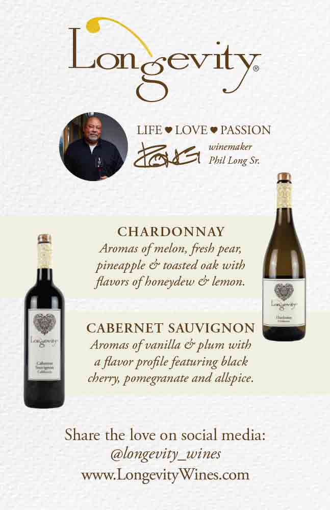 Longevity Cabernet Sauvignon & Chardonnay Poster