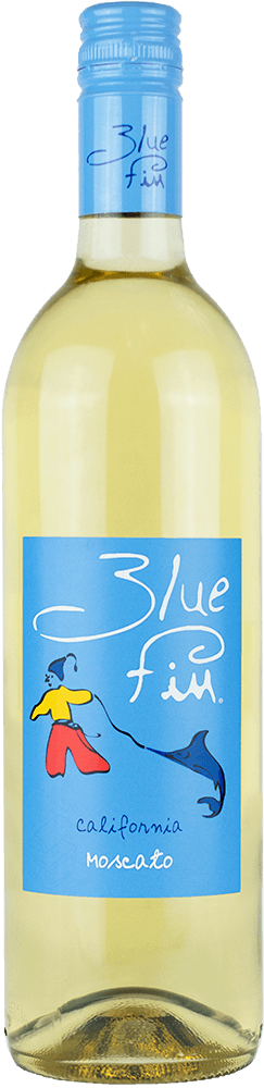 Blue Fin Moscato Bottleshot