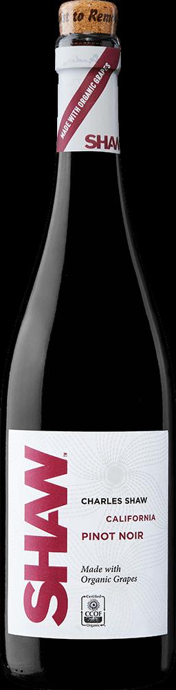 Shaw Organic Pinot Noir Bottleshot