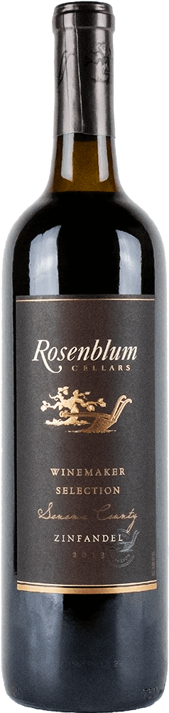 Rosenblum Cellars Zinfandel Sonoma County Bottleshot