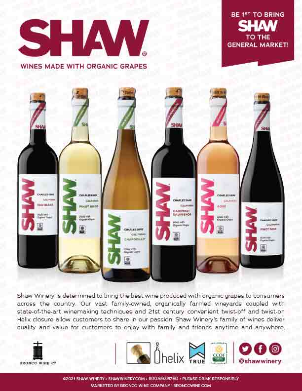 Shaw Organic Flyer for National Sales