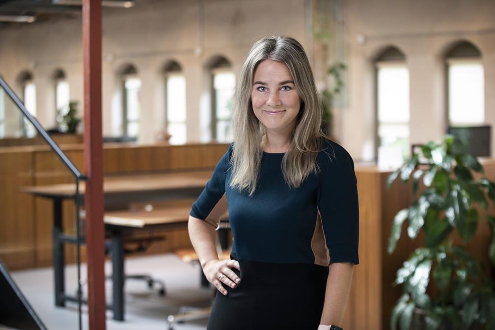 Portrett av Tine Grønslett, Forretningsutvikler Strategi og organisasjon