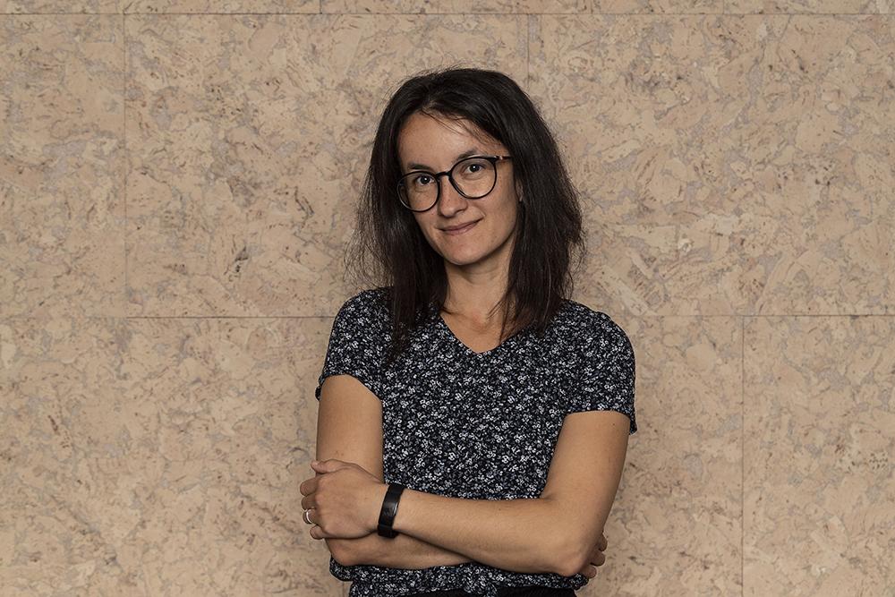Portrettbilde av Ildiko Gaspar, UX designer og frontend utvikler i Labs