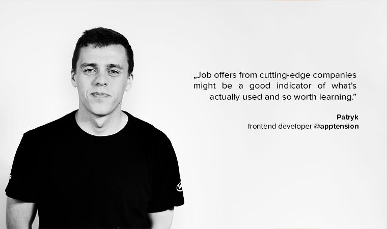 Patryk junior developer advice