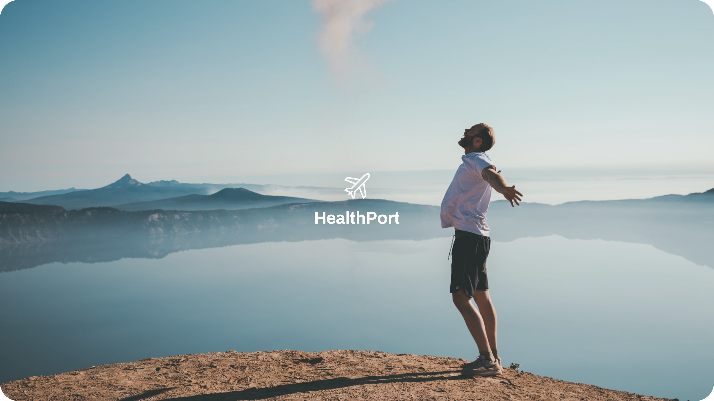 HealthPort digital passport design