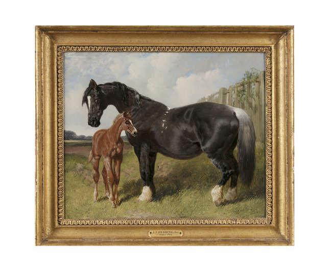 JOHN FREDERICK HERRING SENIOR (1795-1865)