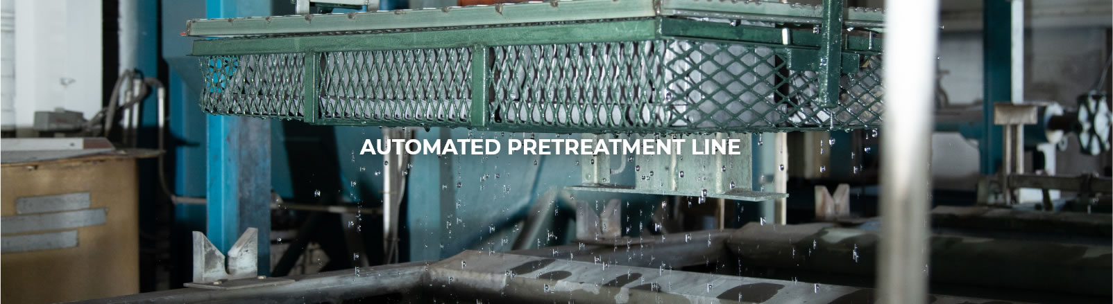Automated pretreatment line