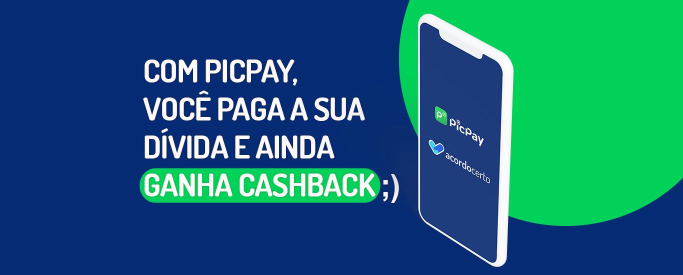 Página sobre promoção PicPay