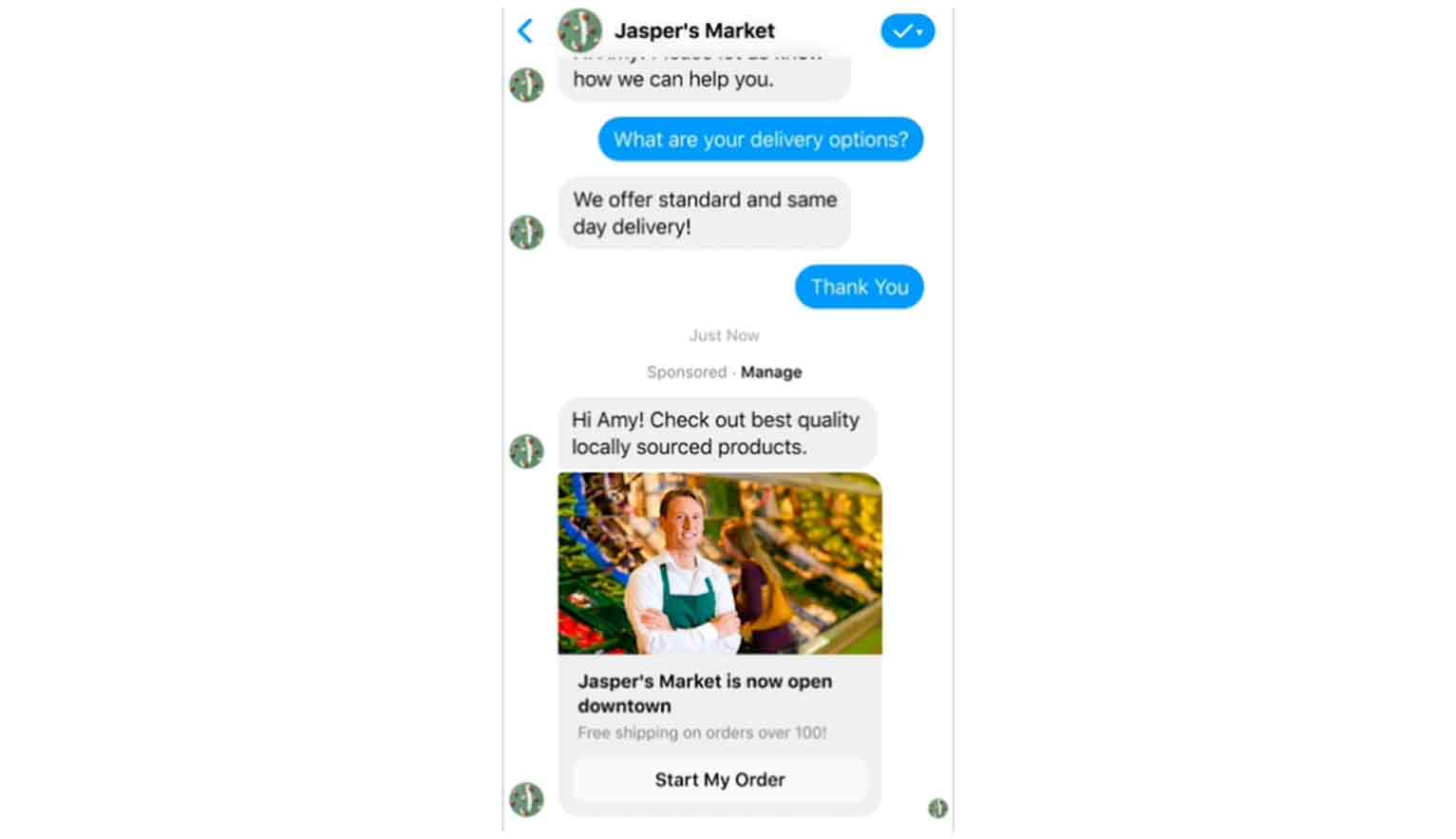 Messenger ads allow you to deliver your Facebook ads right into your audience's inbox.