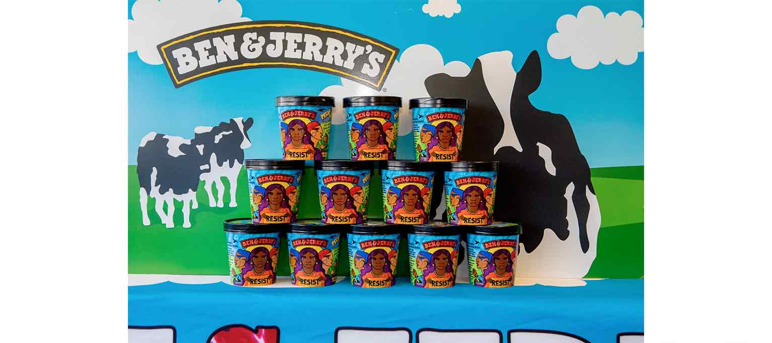 Where other brands have been criticized for performative social-media posts, Ben & Jerry's has taken real action.