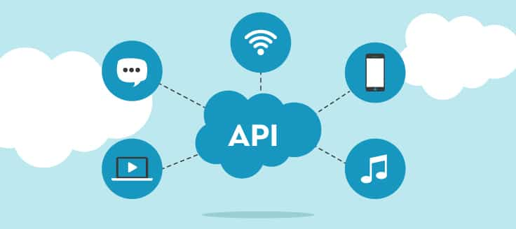 APIs are programming components that facilitate connectivity and data communication between different devices and applications.