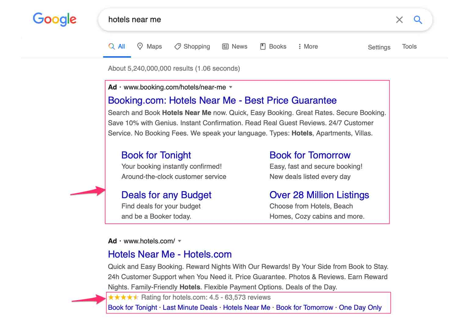 For your Google PPC campaign make use of ad extensions.