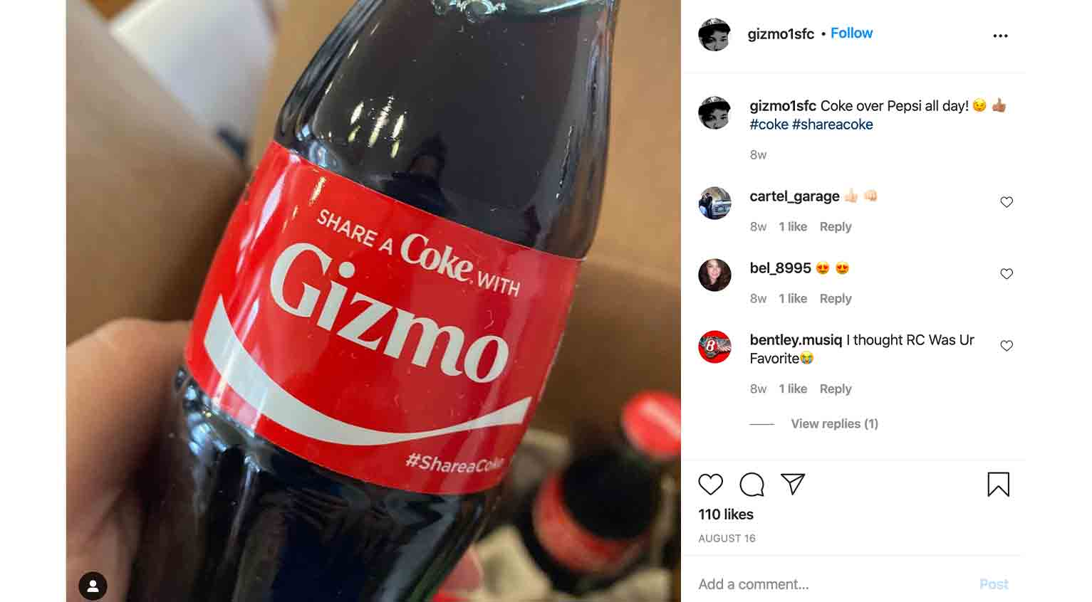 Coca-Cola's 'Share a Coke' campaign is one of the most phenomenally successful user-generated content campaigns to date.