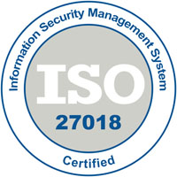 Information security Management System ISO 27018 Certified