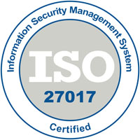 Information security Management System ISO 27017 Certified